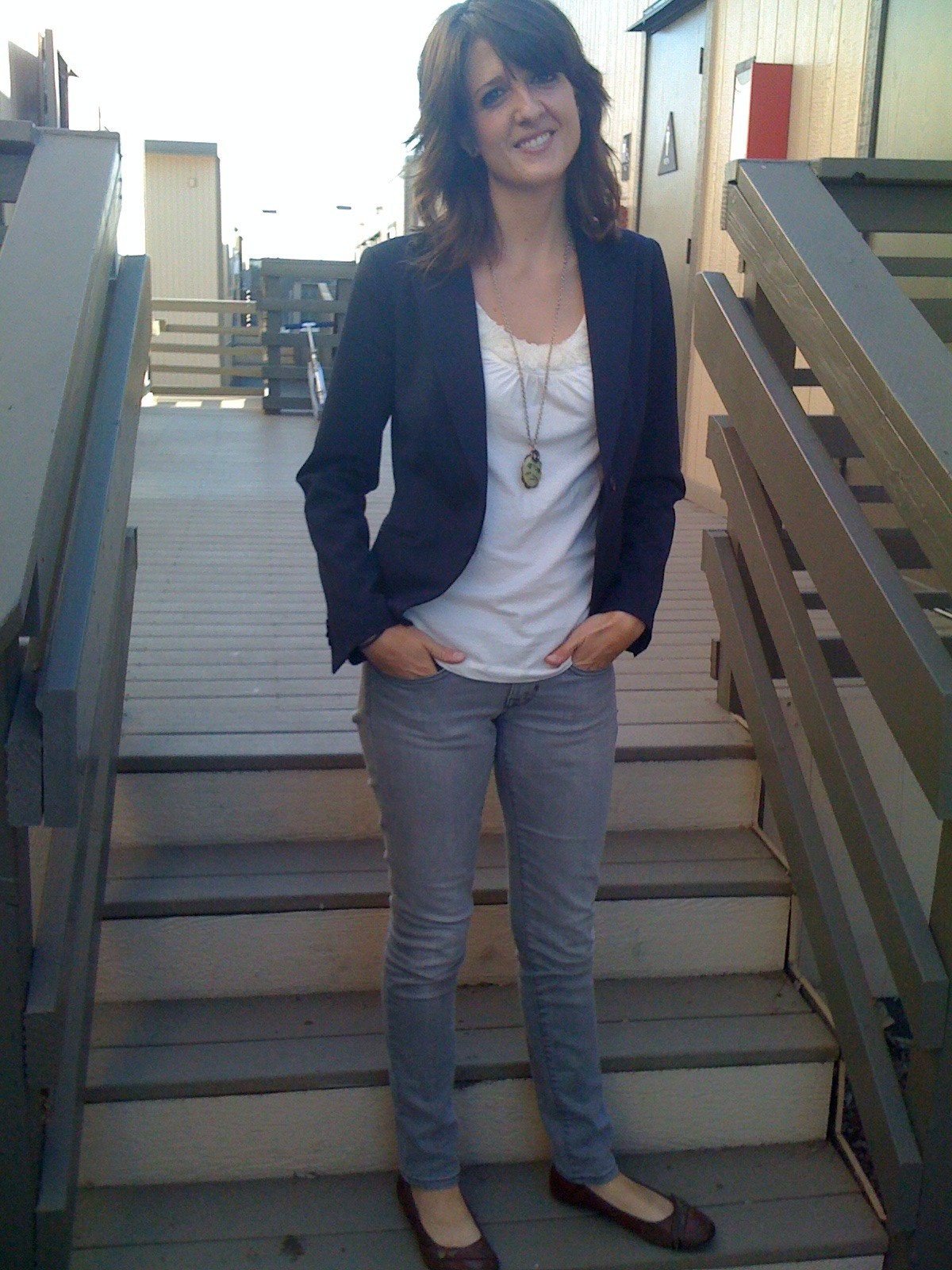 Grey Pants Blue Blazer Women : Elegant Black Grey Pants Blue ...